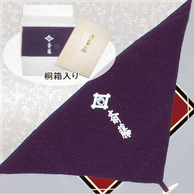 家紋入り台付き袱紗01