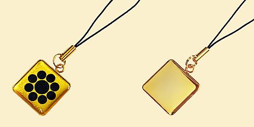 家紋ストラップ風雅G正方形7
