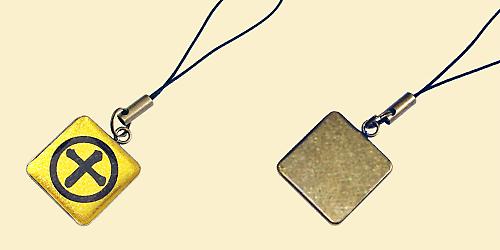 家紋ストラップ風雅G正方形3