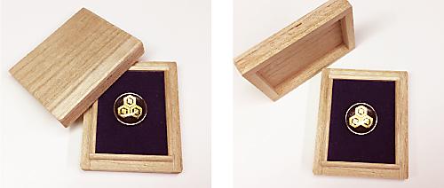 家紋エンブレム風雅GS用桐箱