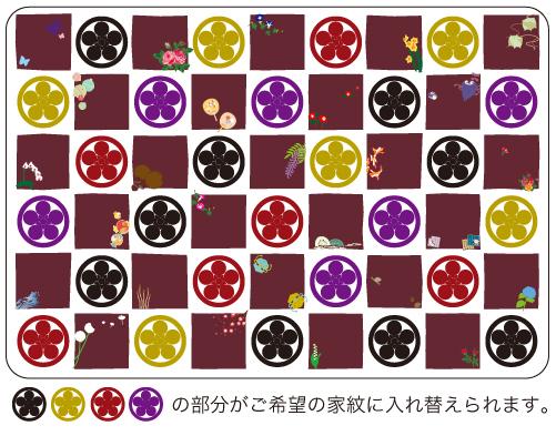 マウスパッド市松家紋02