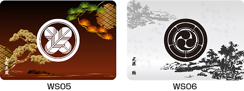 家紋マウスパッド侘寂デザイン2