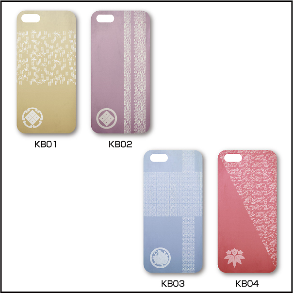 家紋入りiPhoneケース(古美)デザイン8