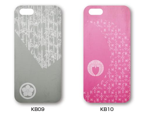 家紋入りiPhoneケース(古美)デザイン1