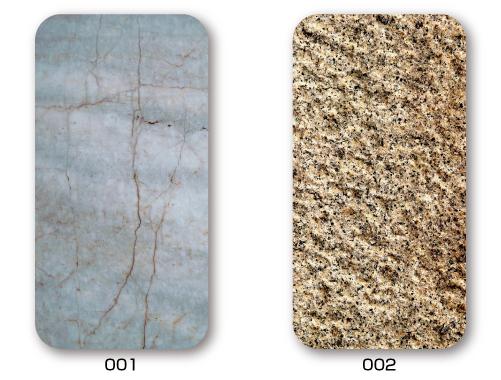 家紋入りiPhoneケース(Stone)石パターン5