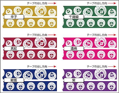 マスキングテープ15印字色2