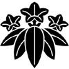 湯浅倉平の家紋