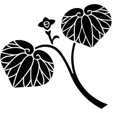 花付き二葉葵紋