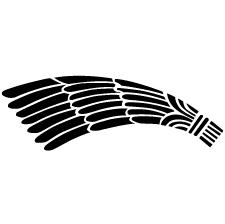 一つ羽箒紋