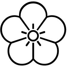 陰梅の花紋