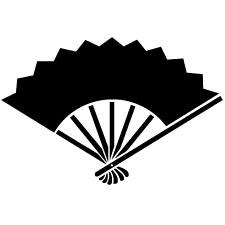 七本骨雁木扇紋
