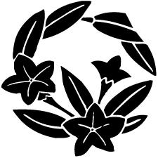 枝竜胆の丸紋