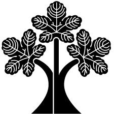 三つ立ち梶の葉紋