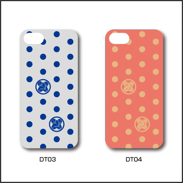 家紋入りiPhoneケース(ポップデザイン01