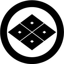 丸に四つ目菱紋