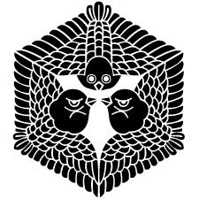 六角形三羽雀紋