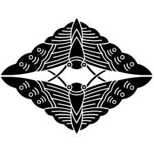 ひげ違い建部蝶紋