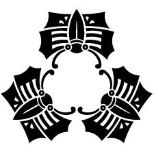 三つ寄せ変わり蝶紋