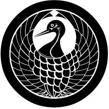 丸に鶴の丸紋