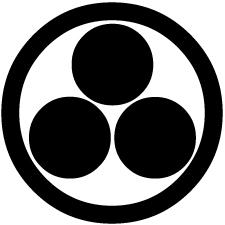 丸に三つ星紋