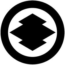 丸に松皮菱紋