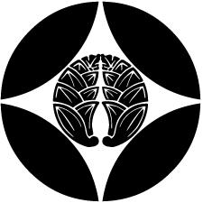 七宝に抱き茗荷紋