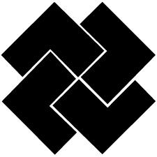 四つ石車紋