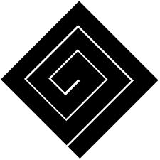 隅立て稲妻紋