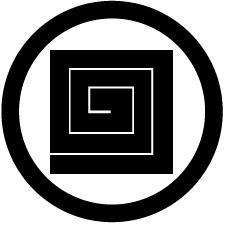 丸に平稲妻紋