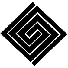 隅立て違い稲妻紋