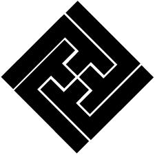 隅立て沙綾形稲妻紋