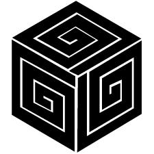 三つ稲妻亀甲紋