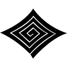 反り稲妻菱紋