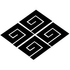 四つ稲妻菱紋