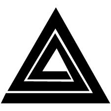 鱗入り三角稲妻紋