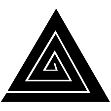三角稲妻紋