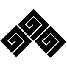 三つ稲妻紋