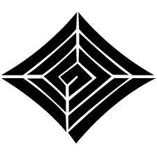 釘抜き稲妻紋
