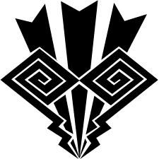 電光稲妻紋