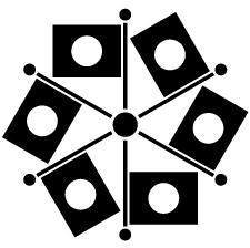 日の丸六つ旗車紋
