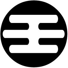 石持ち地抜き霞紋