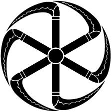 六つ車鎌紋