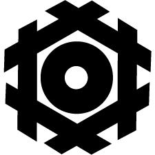 六角井筒蛇の目紋