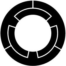 三つ車輪紋