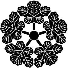 五つ梶の葉車紋