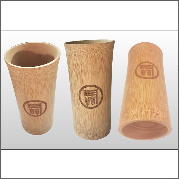 ビアグラス(竹)色々な角度の写真2