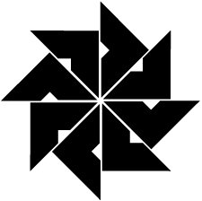 四つ目車紋