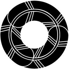 鷹の羽蛇の目紋