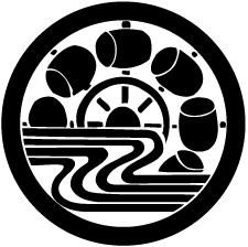 丸に水の槌車紋