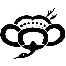 中陰梅鶴紋